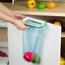 Kitchen Hanging Trash Rubbish Bags Holder Garbage Racks Cupboard Hanger UR