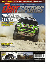 DIRT SPORTS, APRIL, 2013 ( THE VOICE OF -ROAD ,MOTORSPORTS) BATTLE IN BAJA !
