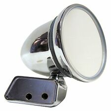 Chrome Bullet Mirror - Mountney CMFM-R - with Austin Mini Door Mounting - Right