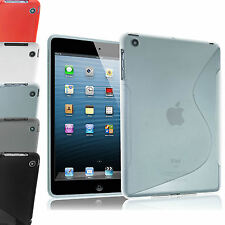 For Apple iPad Air Transparent Clear Silicone Gel Case Cover Ultra Slim