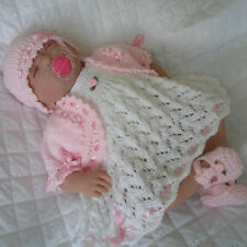 "Creative Dolls Designs Knitting Pattern Dress Set 18 "" Berenguer Reborn Doll"