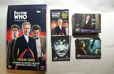 DOCTOR WHO TIMELESS    Complete Trading Card BASE set with Wrapper & Empty Box