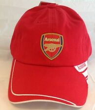 Arsenal Gunners FC Official Wavy Stripe Red Ballcap Hat One Size Fits Most
