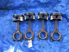 98-01 JDM Honda Prelude H23A VTEC pistons and rods H23 PCF set OEM RARE