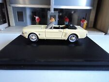 Oxford  1965  Ford Mustang Convertible  Yellow    1/87   HO  diecast car