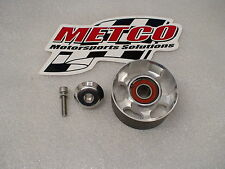 03-04 Cobra 99-04 Lightning Metco 90mm double bearing billet idler pulley gt500