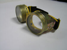 Vintage USSR motorcycle rare protective glasses safety spectacles metal goggles