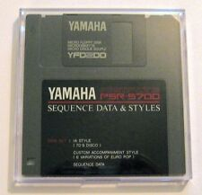 Yamaha PSR-5700 Sequence Data Disk, 70's Disco Style and Euro Pop Variations
