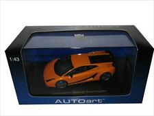 LAMBORGHINI GALLARDO SUPERLEGGERA ORANGE 1/43 DIECAST MODEL CAR BY AUTOART 54611