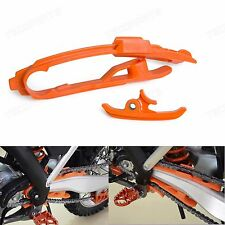 Orange Chain Slider Guard Protection For KTM 450 SX-F FACTORY EDITION 2013-2015