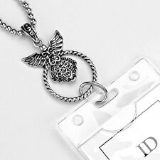 Guardian Angel ID Badge Name Tag Key Card Eyeglass Holder Necklace Lanyard NEW