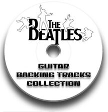 THE BEATLES STYLE ROCK GUITAR MP3 BACKING TRACKS CD COLLECTION LIBRARY