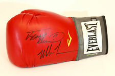 Mike Tyson y Frank Bruno Duel Firmado 16oz Rojo Everlast Boxing Glove