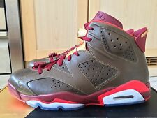 DS 2014 NIKE AIR JORDAN 6 VI RETRO 'CIGAR' RAW UMBER CHAMPAGNE UK 10 US 11