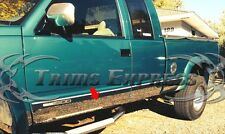 "1988-1998 Chevy/GMC C/K Pickup Extended Cab Short Bed Rocker Panel-10Pc 6.25""W/F"