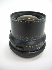 Mamiya RZ67 Z 50MM F4.5 Wide Angle Lens for all RZ67 Models in EC