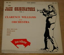 "CLARENCE WILLIAMS ~ BLUES 7"" EP UK JAZZ COLLECTOR SERIES  JEL 18"
