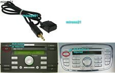 FORD 6000 CD AUX entrada adaptador de cable 6000CD conectar MP3 IPOD, IPHONE, IPAD,
