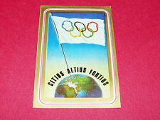 N°2 PANINI OLYMPIA 1896 - 1972 JEUX OLYMPIQUES OLYMPIC GAMES