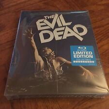 The Evil Dead Blu-ray Disc 2014 SteelBook With Protective Case Free Shipping!