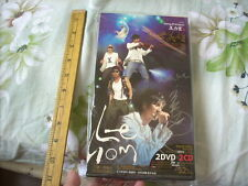 a941981 Double CD Double DVD Set 王力宏 LEEHOM Lee Hom 蓋世英雄 Live Concert 演唱會影音全記錄 (