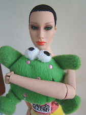 "Little Green Monster Plush Mini Toy 4 Sybarite Ficon Jamieshow 16"" Fashion Dolls"