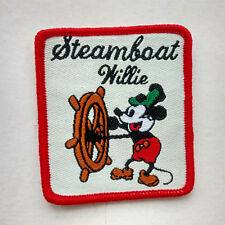 Mickey Mouse Sailor Walt Steamboat Willie Sew On Patch Children's Cloth