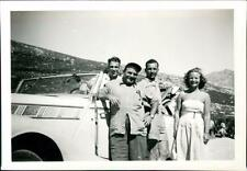 1953. Calvi. Fay, Diana - photos + PC to Steadman - Epsom, Horton Hospital QC759