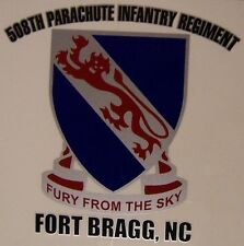 Window Bumper Sticker Military Army 508th Parachute Infantry Regiment NEW Decal