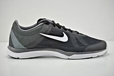 Womens Nike In-Season TR 5 Running Shoes Size 7 Black White Grey 807333 001