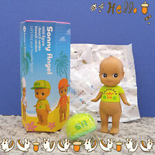 Sonny Angel Mini Figure Beach Series Hawaii LANIAKEA Lime With Cap Baby Doll