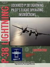 Lockheed p-38 Lightning Pilot's Flight M by Periscope Film.Com (2006, Paperback)