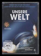 DVD UNSERE WELT - DOKUMENTATION (gesprochen von Ulrich Wickert) *** NEU ***