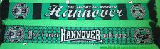 "Hannover Schal ""You´ll never walk"" Ultra Fan Niedersachsen H +neu+ 100 % Acryl +"