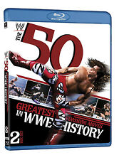 Official WWE 50 Greatest Finishing Moves in WWE History Blu-ray (2 Discs) USED