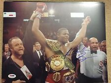 RIDDICK BOWE Signed Autograph Auto 11x14 Photo Picture Boxing Champ HOF PSA/DNA