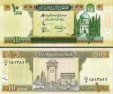 Afghanistan - 10 Afghanis - UNC currency note - current series
