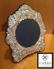 """CARRS of SHEFFIELD ENGLAND HALLMARKED Silver 925 Photo Frame, 6.5"""" X 5.75"""""""