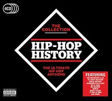Hip-Hop History - The Collection - New 4CD Album - Pre Order - 5th May