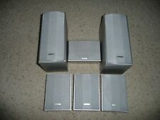Pioneer S-FCRW230-S 6-Pc Speaker System 100W 8 Ohms with No Subwoofer (Silver)