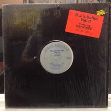 """EXC 12""""~DA NOIZE~D.J's De-Lite Vol II~Get Up~Do You Want My Love~Got Me~Solid~"""