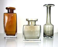 seltenes GRAL Vasen Trio (3) Design Hans Theo Baumann 1966 Modern Murano Ära