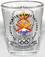 "Shot Glass Salt Lake 2002 Olympic Winter Games - 2 1/4"" High"