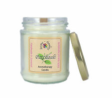 Patchouli Wood Wick Soy Wax Candle | Aromatherapy Spa Candle | Best Home Candle