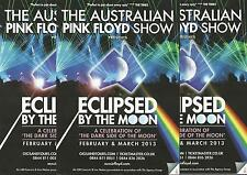 The Australian Pink Floyd Show - 2013 UK Tour FLYERS x 3