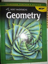 Holt McDougal Geometry, Tennessee Teacher's Ed,   2012  9780547476759