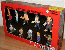 Tekken 2 Mini Character Collection Set of 10 Toy Figure Tsukuda Hobby Japan RARE