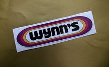 WYNNS OIL STICKER/DECAL X2