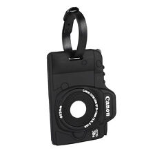 Secure Travel Camera Luggage ID Tag Label Handbag Tote Bag Accessories