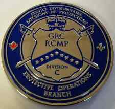 RCMP Royal Canadian Mounted Police GRC Division C Protective Operations Branch